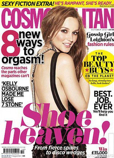 Лейтон Мистер в журнале Cosmopolitan UK. Октябрь 2012