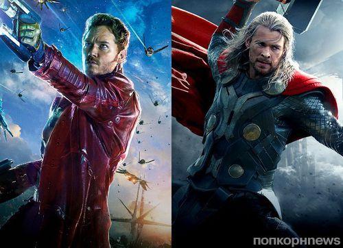Крис Прэтт и Крис Хемсворт появятся в «Мстителях: Война бесконечности»