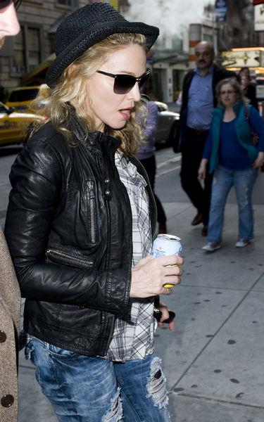 Мадонна на студии NBC в Нью-Йорке