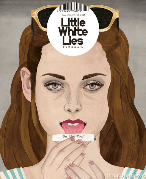 Кристен Стюарт в журнале Little White Lies. Сентябрь/Октябрь 2012