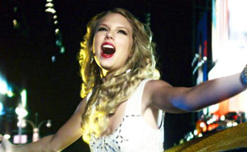 Тэйлор Свифт в ролике MTV Video Music 2009