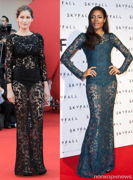 Fashion battle: Летиция Каста и Наоми Харрис
