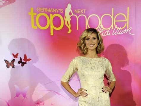 Хайди Клум ищет моделей в Германии