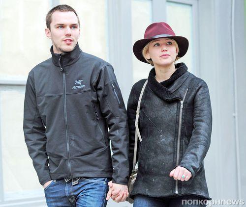 Дженнифер Лоуренс и Николас Холт вновь расстались?