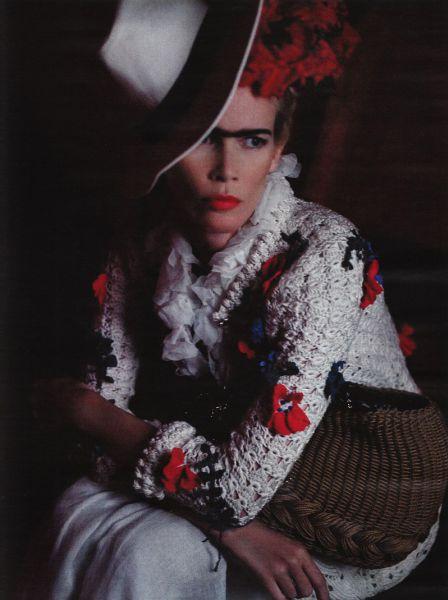 Клаудиа Шиффер в журнале Vogue. Германия. Март 2010