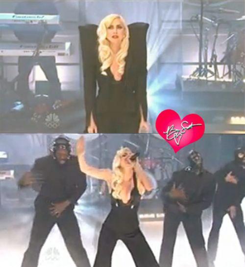 Lady GaGa на шоу Джея Лено