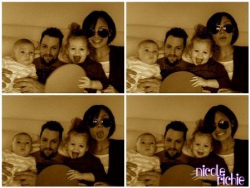 Новые фото семьи Николь Ричи