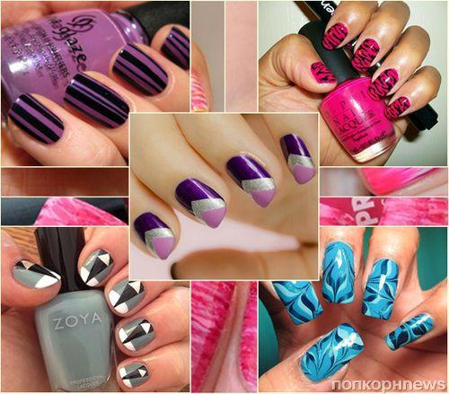 Модные ногти осень-зима 2015-2016