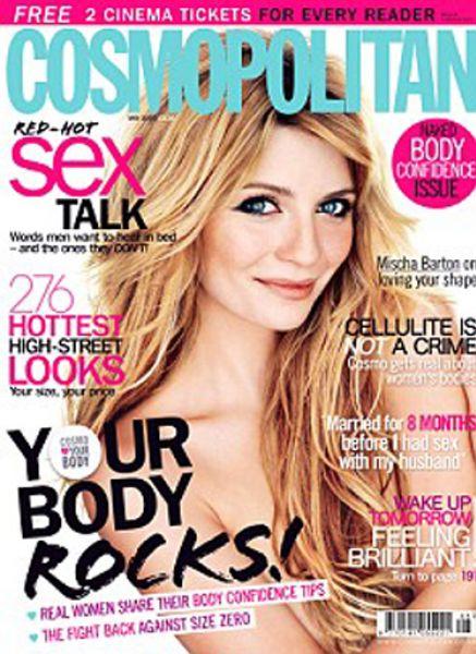 Миша Бартон в журнале Cosmopolitan UK. Май 2009