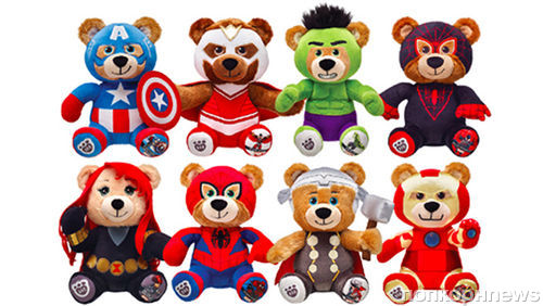 Супергерои «Первый Мститель: Противостояние» стали плюшевыми мишками
