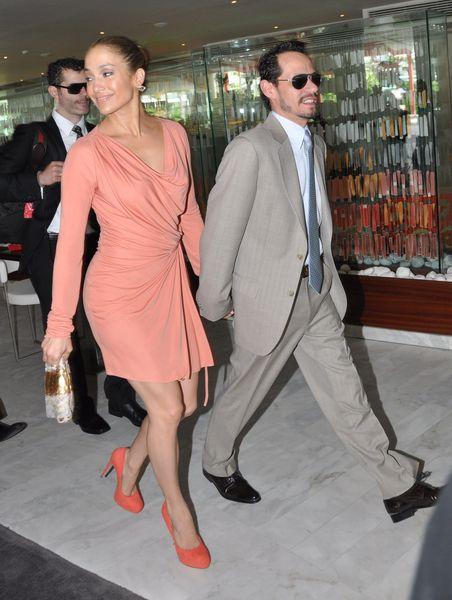 Дженнифер Лопес с мужем в Пуэрто-Рико