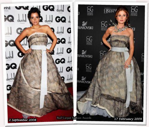 Fashion battle: Лили Аллен и Дебра Мессинг