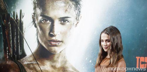 Алисия Викандер о роли Лары Крофт: «Я никогда не смогла бы соперничать с Анджелиной»