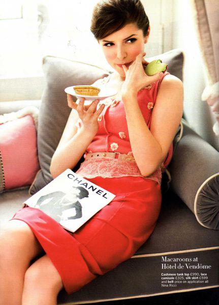 Анна Кендрик в журнале Glamour. Апрель 2011
