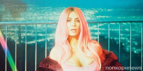 Ким Кардашьян примерила образ Памелы Андерсон для нового фотосета