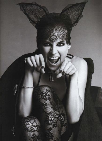 Дайан Крюгер в журнале Vogue Paris. Октябрь  2009