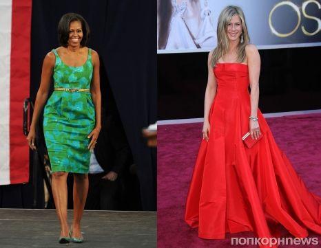 У Мишель Обамы и Дженнифер Энистон самые красивые руки