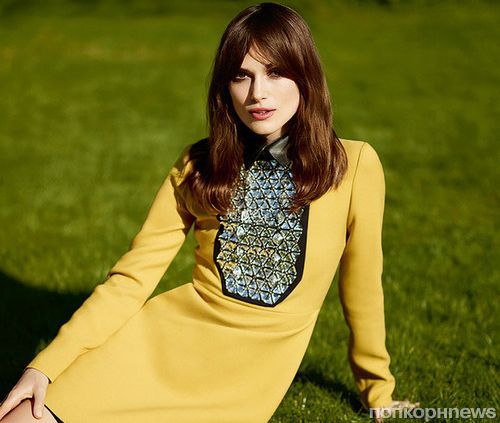 Кира Найтли в журнале Elle Великобритания. Июль 2014