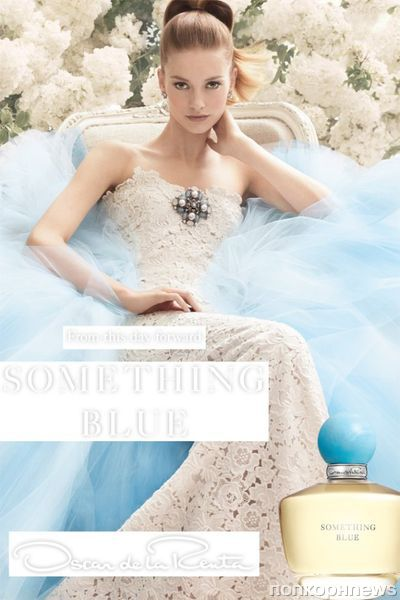 Новый аромат от Oscar de la Renta « Something Blue»