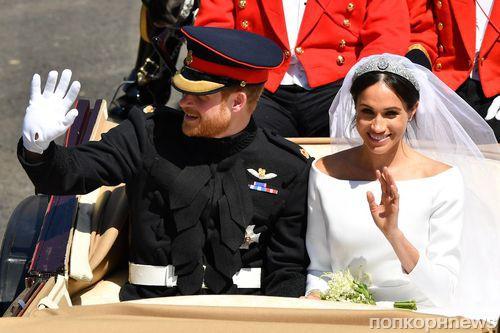 Свадьба Меган Маркл и принца Гарри: официальные фото новобрачных