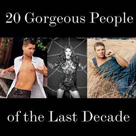 20 самых прекрасных людей десятилетия по версии Interview