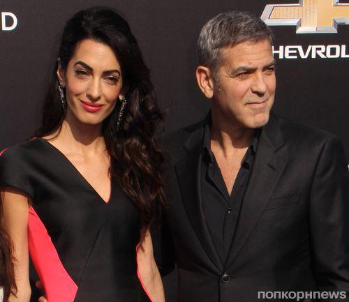 Джордж Клуни и Амаль Аламуддин готовятся завести ребенка