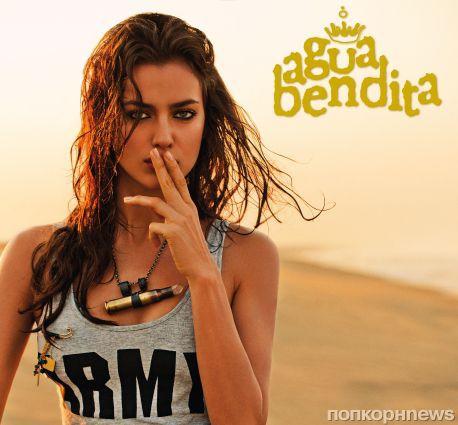 Ирина Шейк в рекламной кампании Agua Bendita 2013