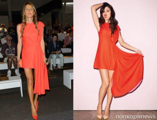 Fashion battle: Анна Делло Руссо и Селена Гомес