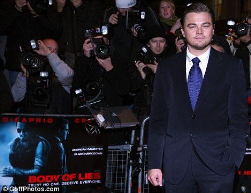 """Леонардо ДиКаприо на Лондонской премьере фильма """"Совокупность лжи"""""""