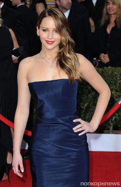 Дженнифер Лоуренс рассказала о своем платье для «Оскара»