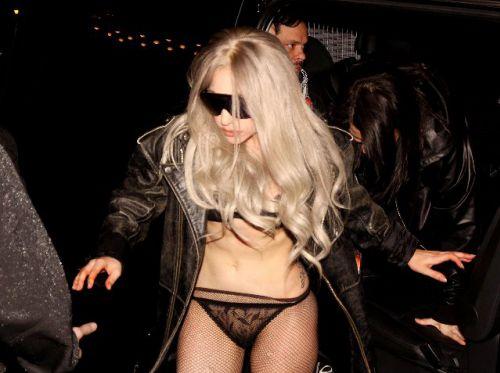 Lady Gaga на улицах Стокгольма