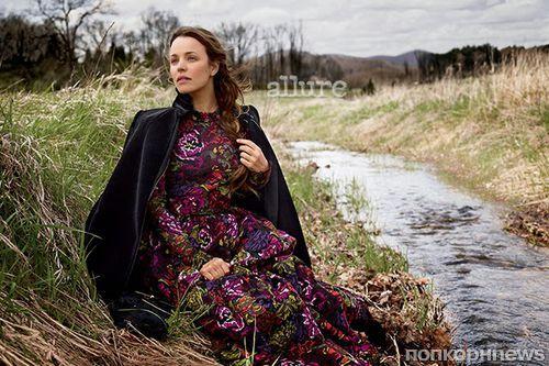 Рэйчел МакАдамс в журнале Allure. Август 2014