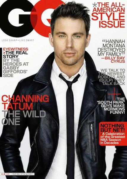 Чэннинг Тэйтум в журнале GQ. Март 2011