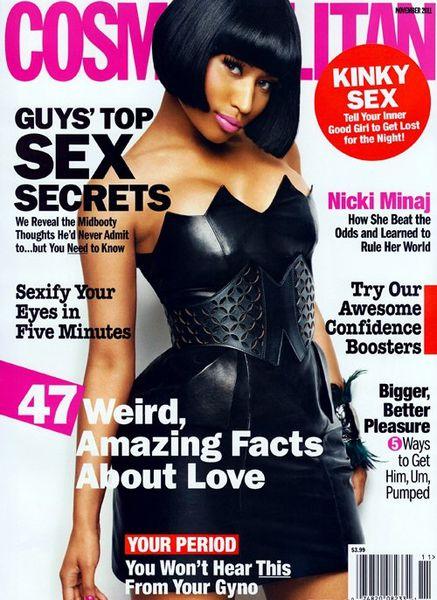 Ники Минаж в журнале Cosmopolitan. Ноябрь 2011