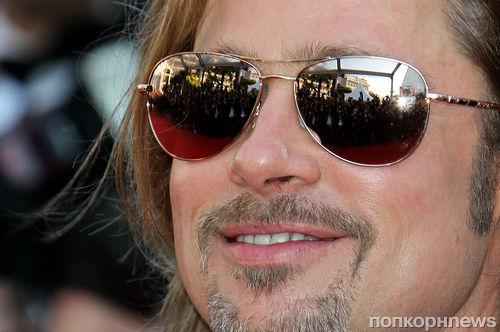 Брэд Питт и его дорогие солнечные очки за 1 250$