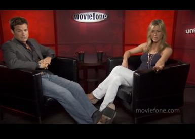 Видео: Интервью Дженнифер Энистон и Джейсона Бейтмана для Moviefone