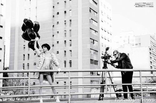 Адриана Лима в журнале Vogue. Бразилия. Сентябрь 2014