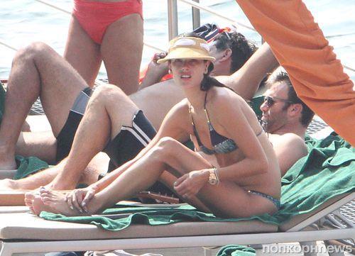 Алессандра Амбросио с мужем в Италии