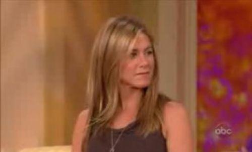 Видео: Дженнифер Энистон на шоу The View