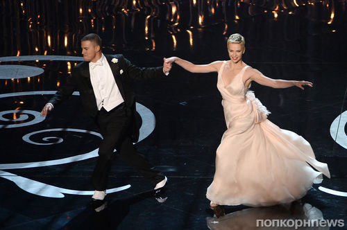 Видео: Ченнинг Татум станцевал на Оскаре с Шарлиз Терон