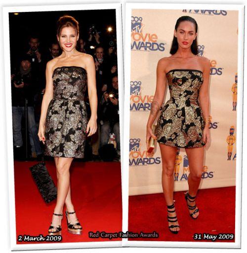 Fashion battle: Эльза Патаки и Меган Фокс