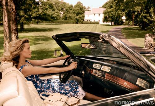 Риз Уизерспун в журнале Vogue. США. Октябрь 2014