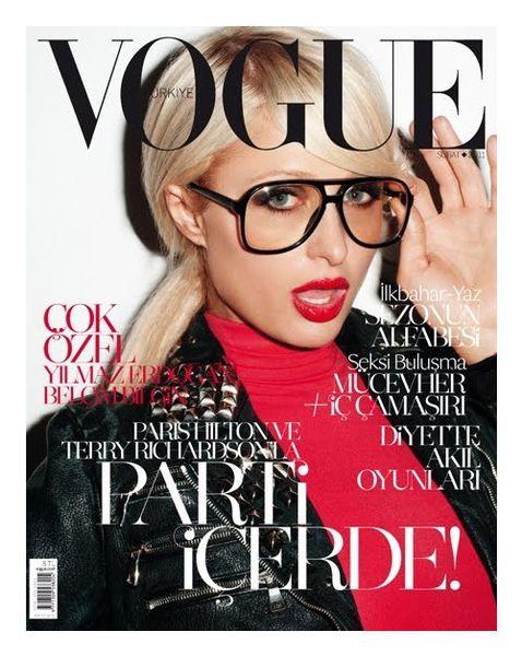 Пэрис Хилтон на обложке турецкого Vogue. Февраль 2011