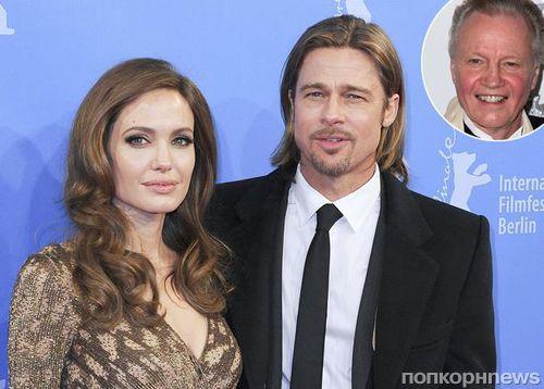Отец Анджелины Джоли прокомментировал ее развод с Брэдом Питом