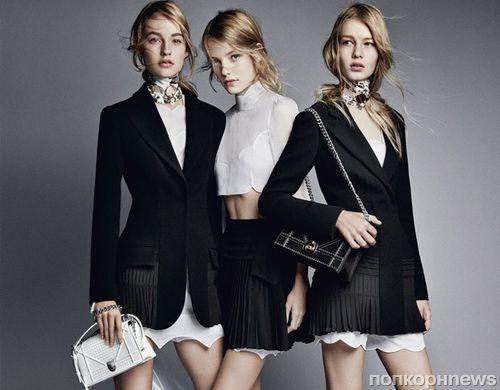 Первый взгляд на рекламную кампанию Dior. Весна / лето 2016