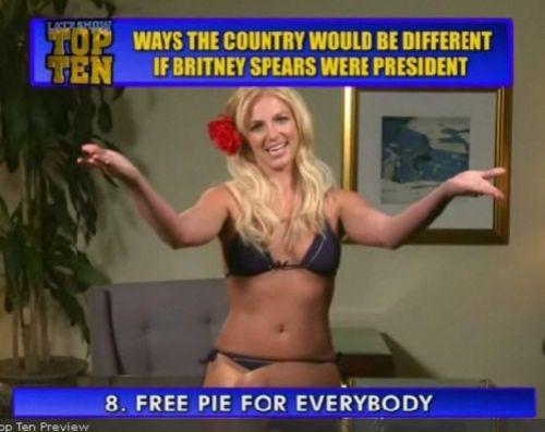Если бы Бритни была президентом