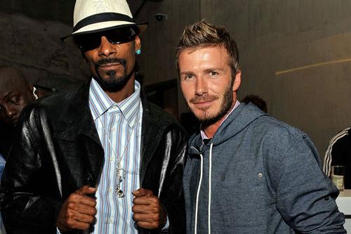Snoop Doggy Dog и Дэвид Бэкхем споют вместе?