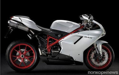 Джастин Бибер покупает себе новую игрушку Ducati Superbike 848 EVO