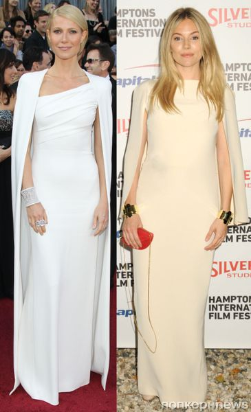Fashion battle: Гвинет Пэлтроу и Сиенна Миллер