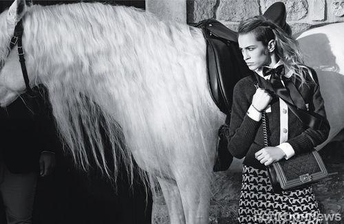 Рекламная кампания сумок Chanel Boy. Весна / лето 2013